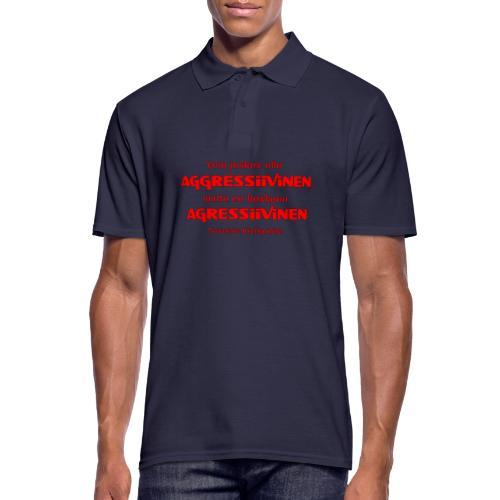 Aggressivinen kielipoliisi - Miesten pikeepaita