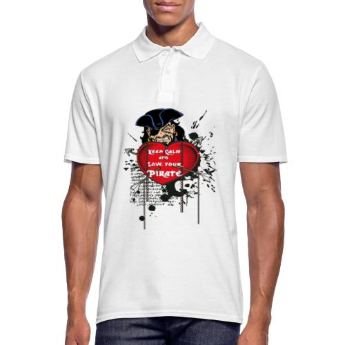 love your pirate - Polo da uomo