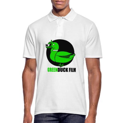 Greenduck Film Logo w. black letters - Herre poloshirt