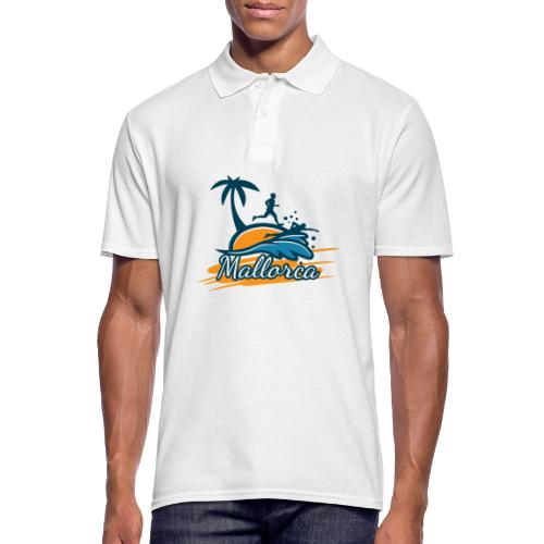 Joggen auf Mallorca - Sport - sportlich - Jogging - Männer Poloshirt