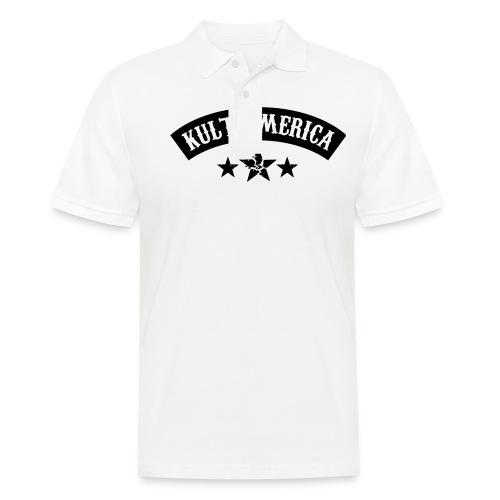 KA and star - Koszulka polo męska