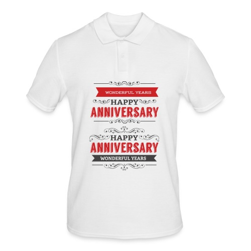 gift happy anniversary,wonderful years - Polo Homme