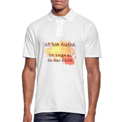 Ich bin Autist, zeige es aber nicht - Männer Poloshirt