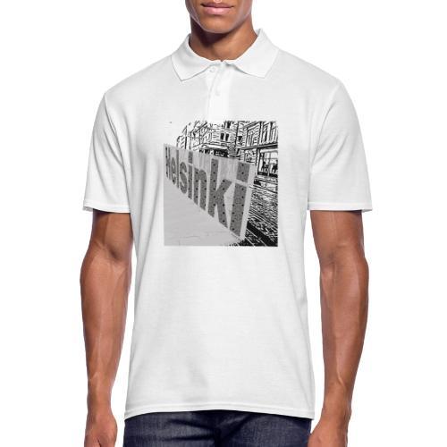 helsinki tram typo - Men's Polo Shirt