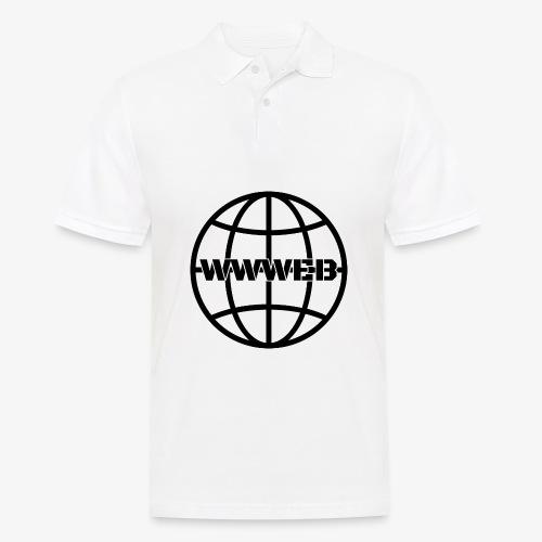 WWWeb (black) - Men's Polo Shirt