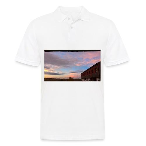 Light Cloudy blue sky - Men's Polo Shirt