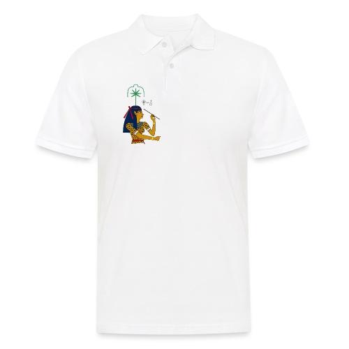 Seschat I altägyptische Göttin - Männer Poloshirt