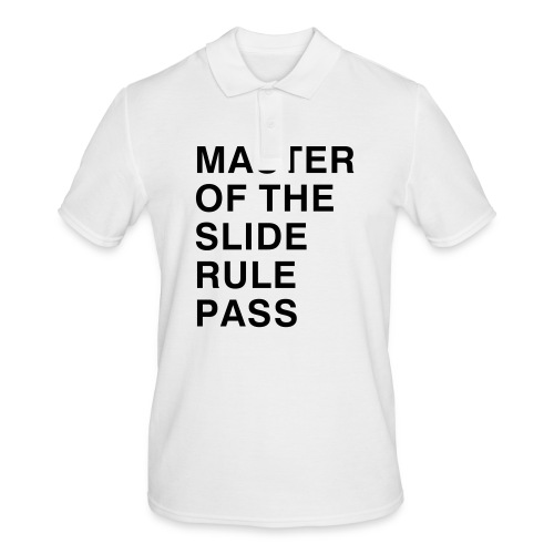 Master of the Slide Rule Pass - Men's Polo Shirt