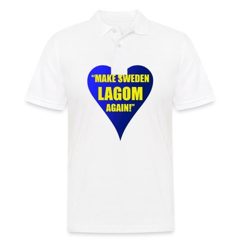Make Sweden Lagom Again - Pikétröja herr