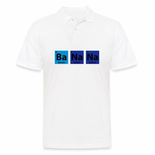 Periodic Table: BaNaNa - Men's Polo Shirt
