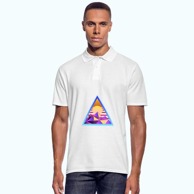 80s retro triangle