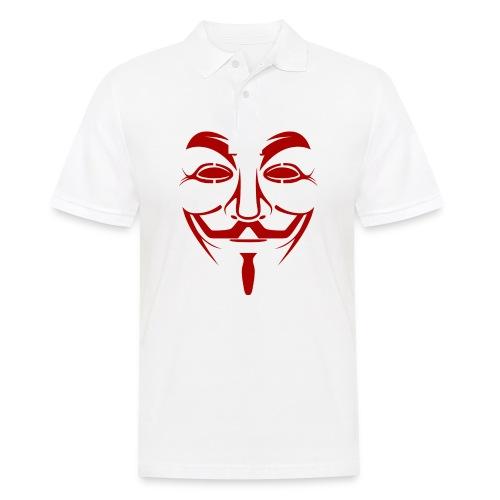 Anonym - Männer Poloshirt