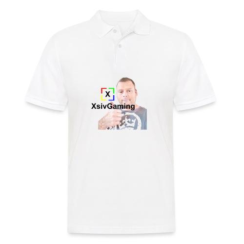 xsivgaming face - Men's Polo Shirt