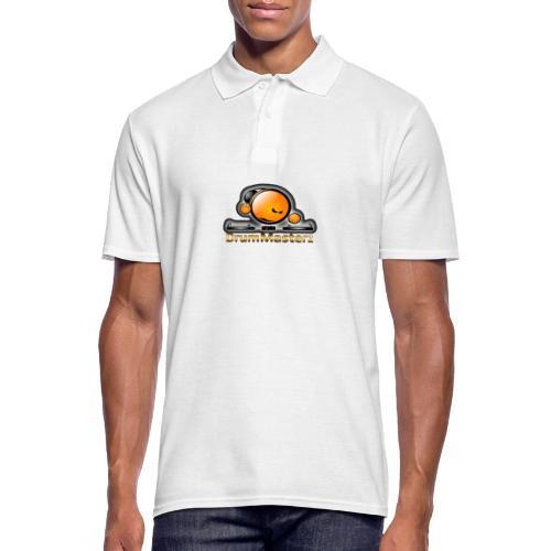 DrumMasterz Logo - Männer Poloshirt