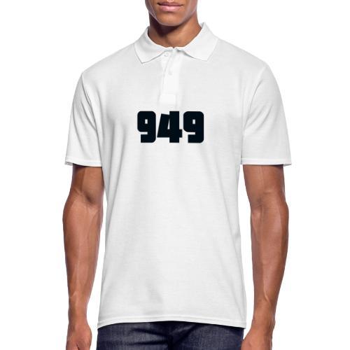 949black - Männer Poloshirt