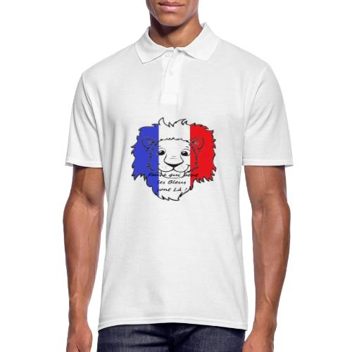 Lion supporter France - Polo Homme