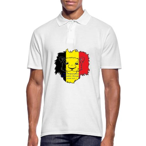 Lion supporter Belgique - Polo Homme