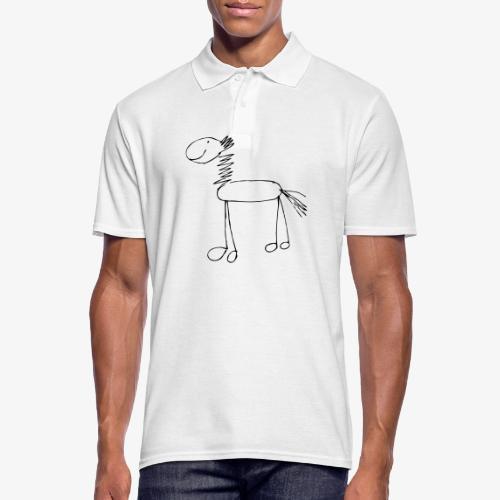 horse1 - Koszulka polo męska