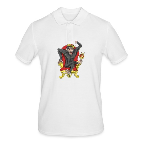 Bitcoin Monkey King - Beta Edition - Männer Poloshirt