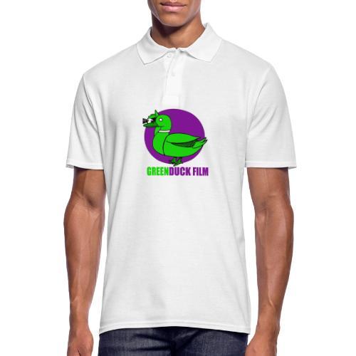 Greenduck Film Purple Sun Logo - Herre poloshirt