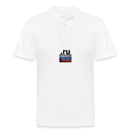 .ru Russland-Fahnen Trikot - Männer Poloshirt