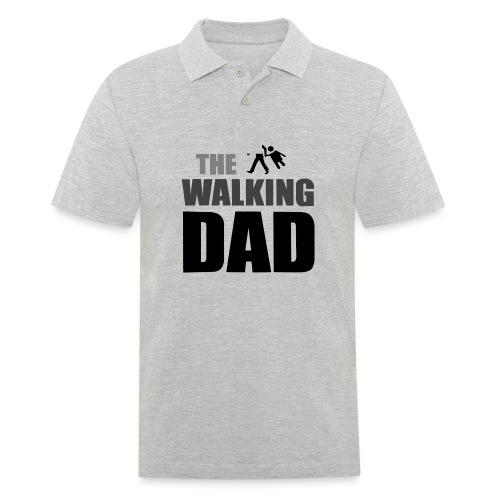 the walking dad auf dem Weg in die lustige Bar - Männer Poloshirt