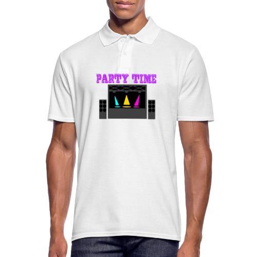 PARTY TIME - Männer Poloshirt