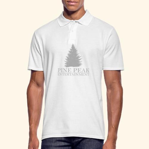 Pine Peak Entertainment Grey - Mannen poloshirt