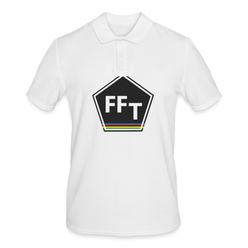 FFT logo colour (Fastfitnesstips) - Men's Polo Shirt