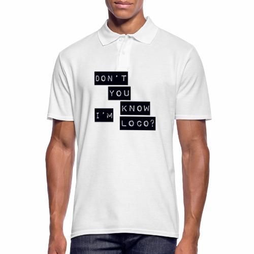 Loco - Men's Polo Shirt