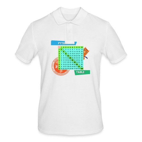 Pythagoras table - Poloskjorte for menn