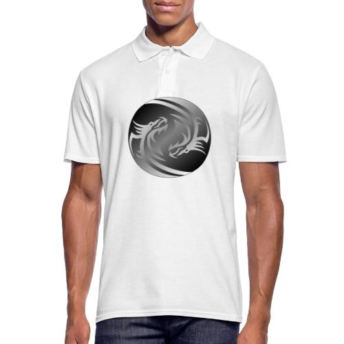 Yin Yang Dragon - Men's Polo Shirt