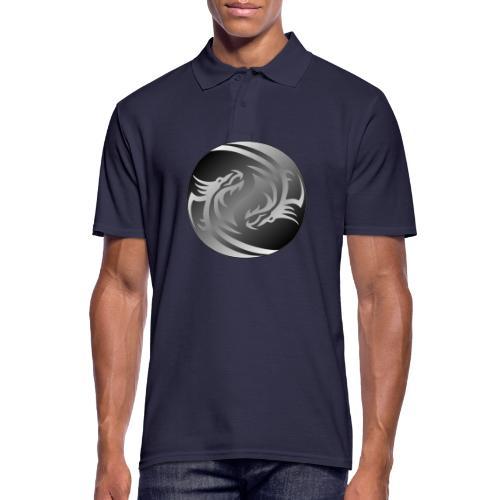 Yin Yang Dragon - Men's Polo Shirt