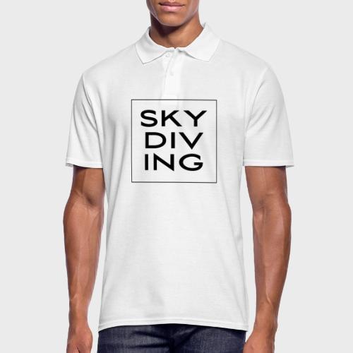 SKY DIV ING Black - Männer Poloshirt