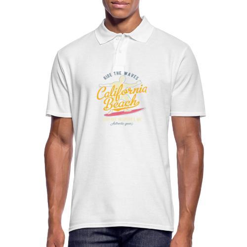 Ride the Waves - Männer Poloshirt