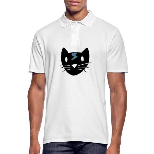 Bowie Cat - Männer Poloshirt