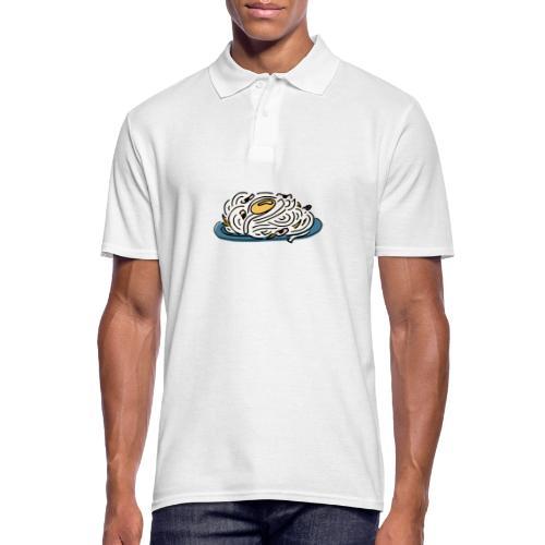 Carbonara Nudeln - Männer Poloshirt