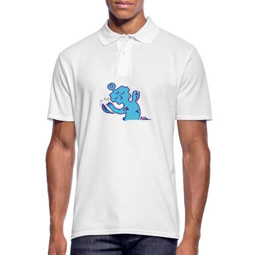 Beruhigendes Wesen - Männer Poloshirt