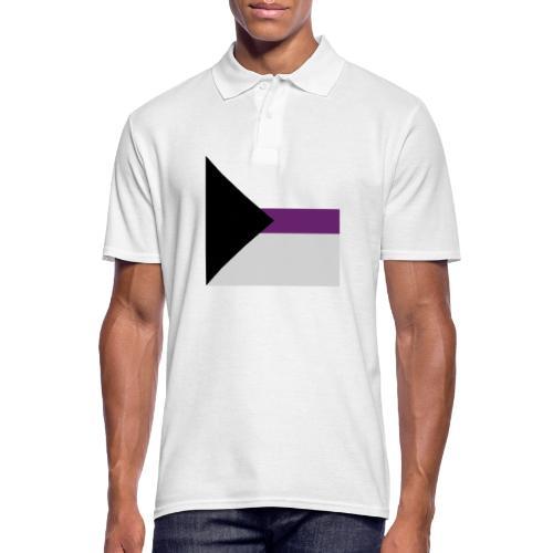 Demisexuell Flagge - Männer Poloshirt