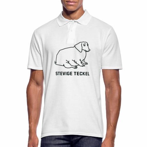 Stevige Teckel - Mannen poloshirt