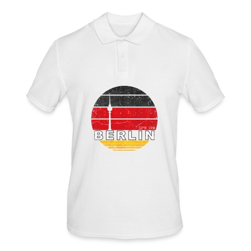 BERLIN, Germany, Deutschland - Men's Polo Shirt