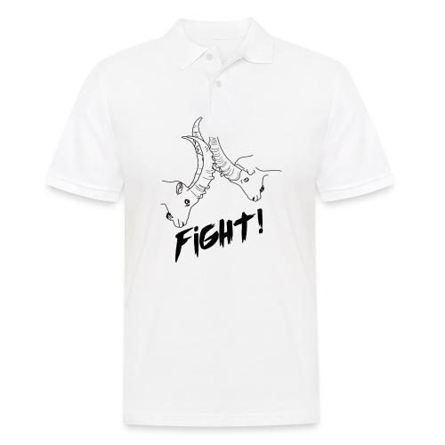 Fight! - Männer Poloshirt