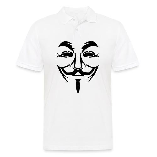 anonym vendetta - Männer Poloshirt