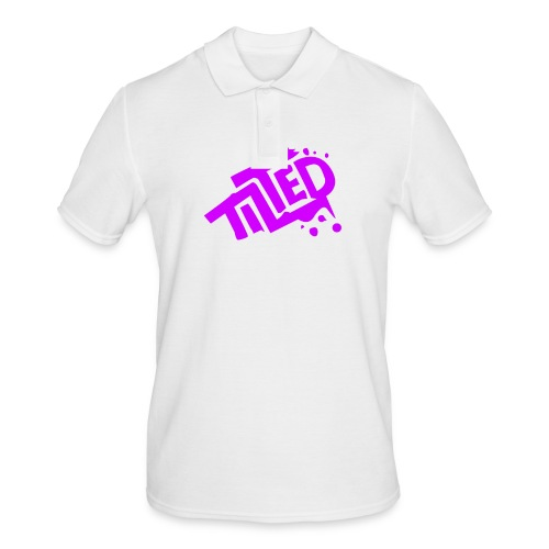 Fortnite Tilted (Pink Logo) - Men's Polo Shirt