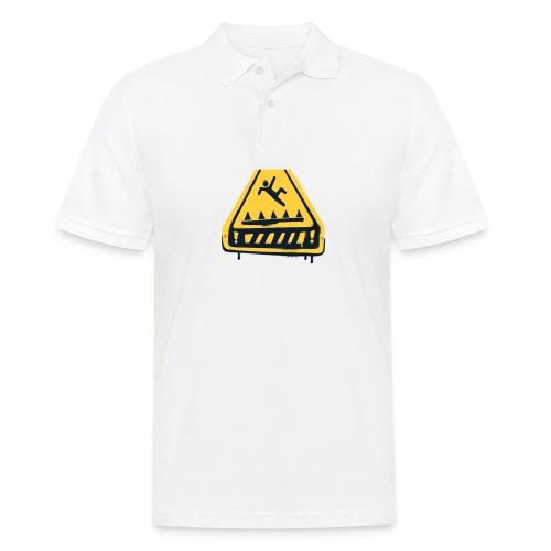 Fortnite Trap Warning - Men's Polo Shirt
