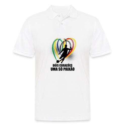 Fußball-Shirt Brasilien - Deutschland - Männer Poloshirt