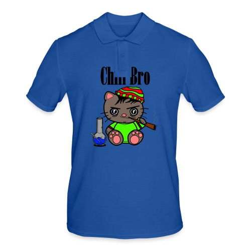Chill Bro Katze - Männer Poloshirt