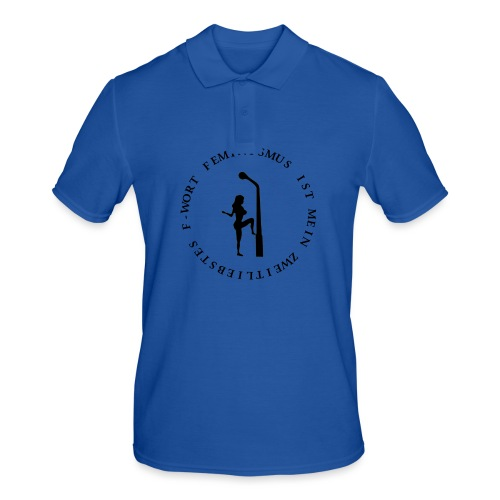 Feminismus - Männer Poloshirt