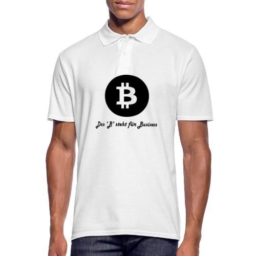 Das B steht fuer Business - Männer Poloshirt