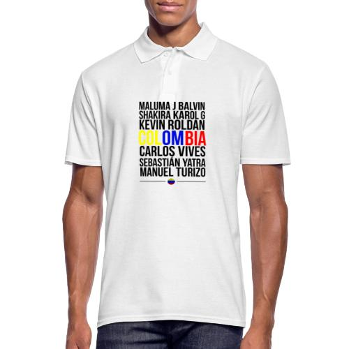 Reggaeton Shirt Kolumbien - Männer Poloshirt